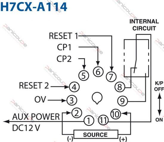 h7cx a114 schema